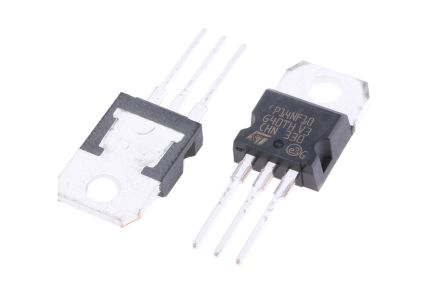 STMicroelectronics N-Channel MOSFET, 15 A, 100 V, 3-Pin TO-220  STP14NF10 (5)