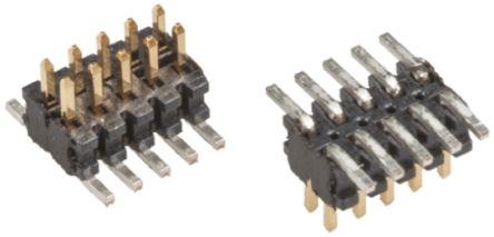 Samtec , FTMH, 40 Way, 2 Row, Straight Pin Header