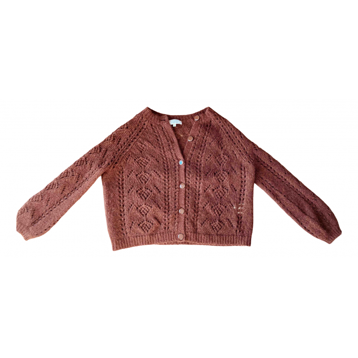 Sezane - Pull Fall Winter 2019 pour femme en laine - marron