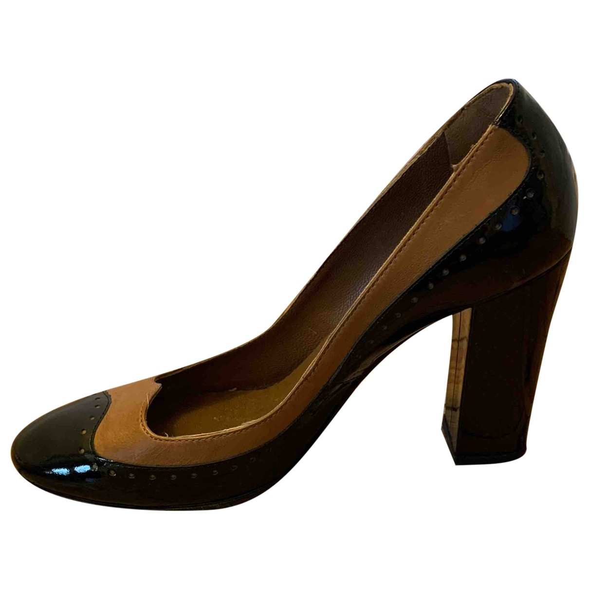 Hobbs \N Black Patent leather Heels for Women 37 EU