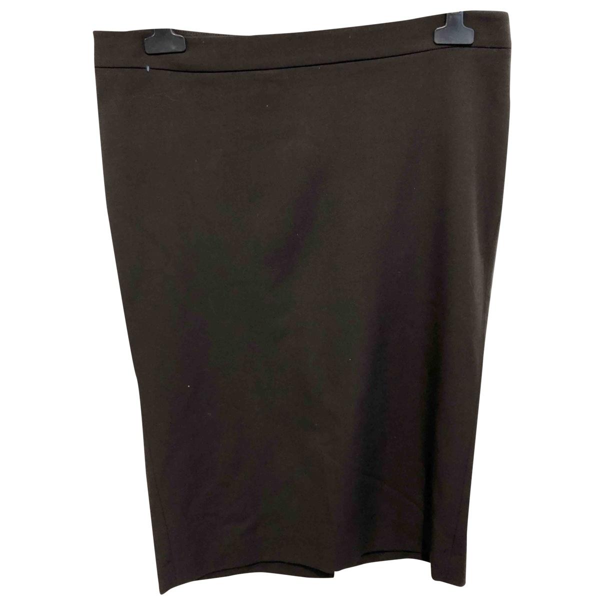 Patrizia Pepe \N Brown Wool skirt for Women 44 IT