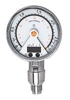 ifm electronic Pressure Sensor for Gas, Liquid , 2.5bar Max Pressure Reading Analogue + PNP-NO/NC Programmable
