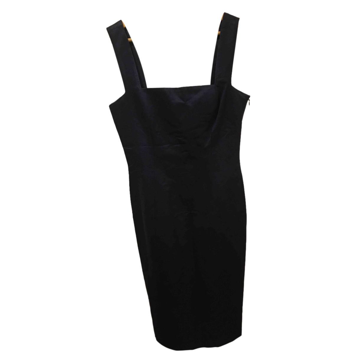 Yves Saint Laurent N Navy Cotton dress for Women 38 FR