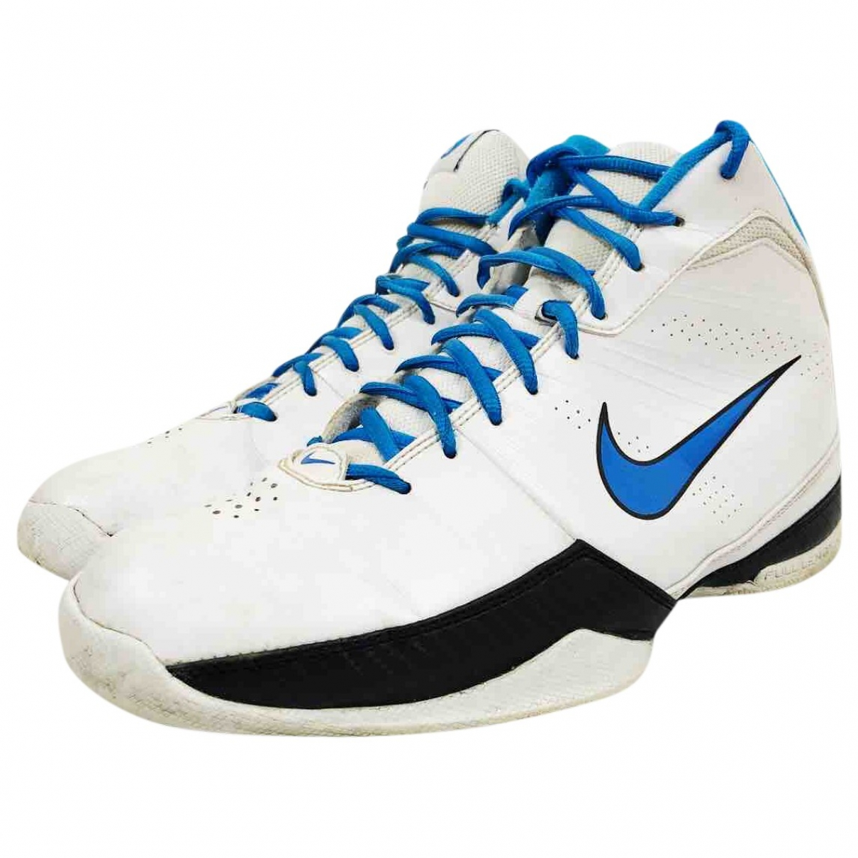 Nike \N White Leather Trainers for Men 8.5 UK