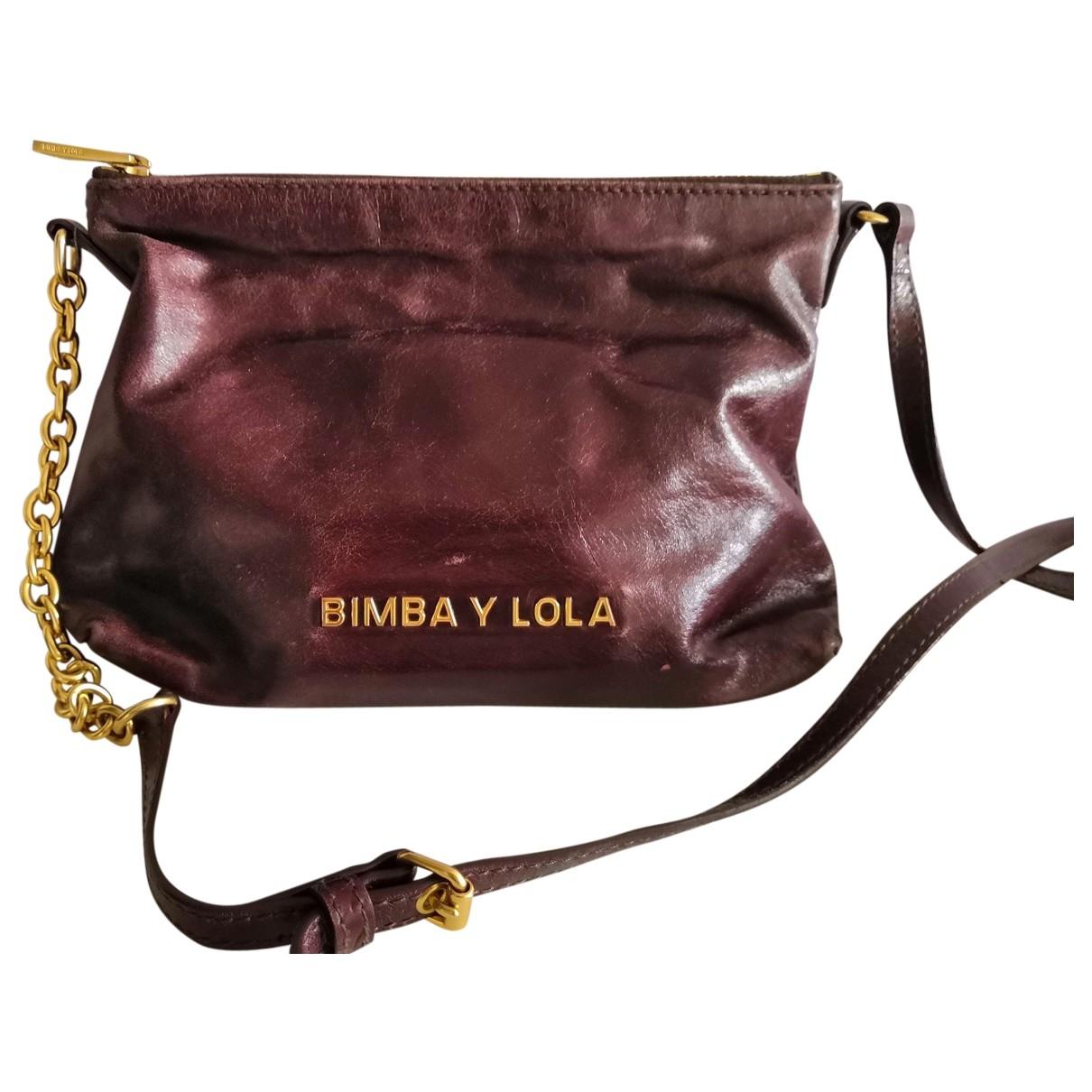 Bimba Y Lola \N Burgundy Leather handbag for Women \N
