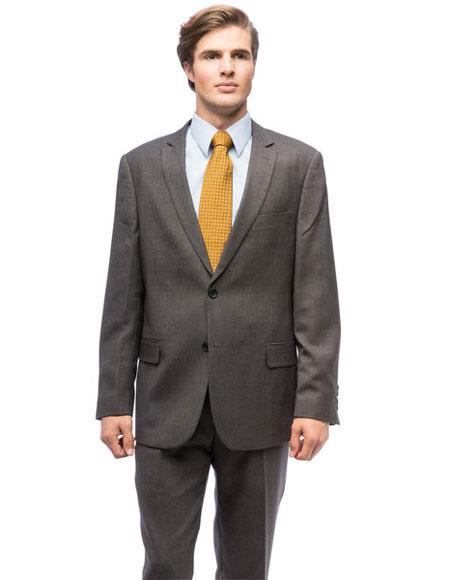 Men's 2Buttons Polyester/Viscose Modern Fit Giorgio Fiorelli Brsuits
