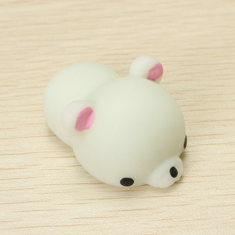 Green Bear Squishy Squeeze Cute Healing Toy Kawaii Collection Stress Reliever Gift Decor