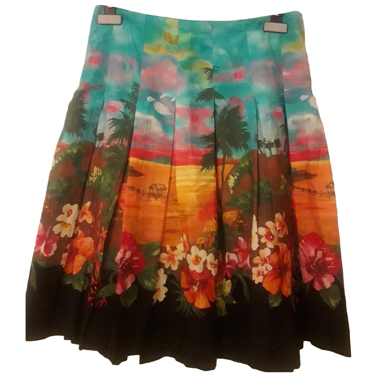 Zara \N Cotton skirt for Women 40 FR