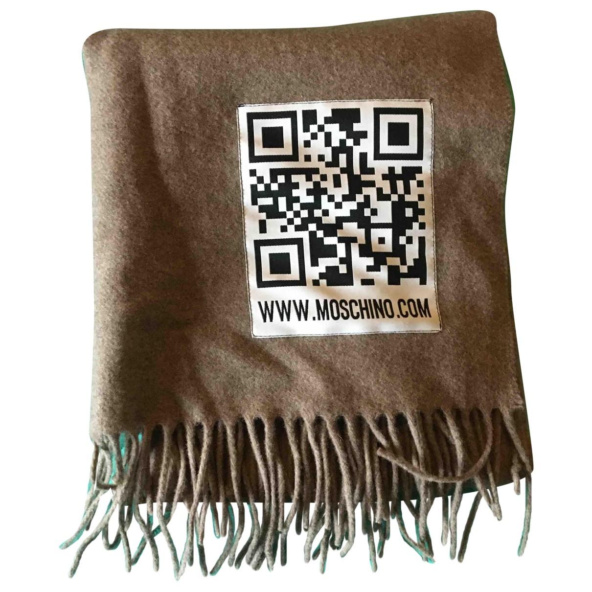 Pañuelo / bufanda de Lana Moschino