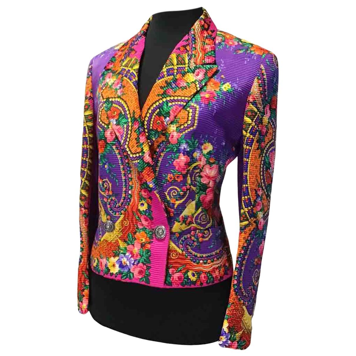 Istante - Veste   pour femme en laine - multicolore