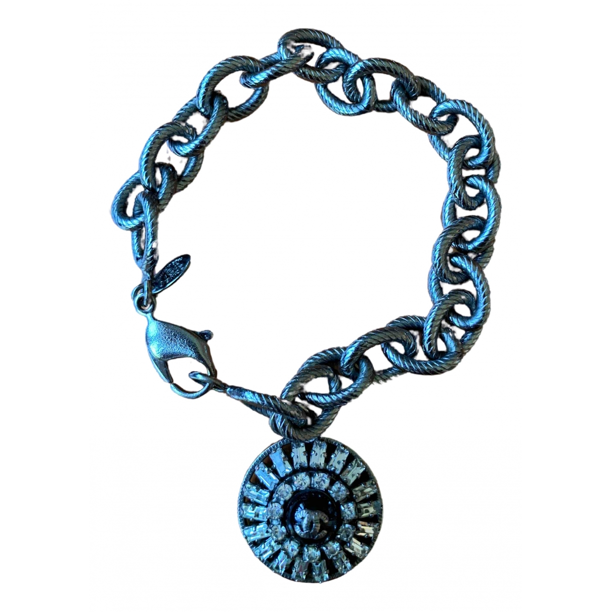 Chanel - Bracelet   pour femme en metal - argente