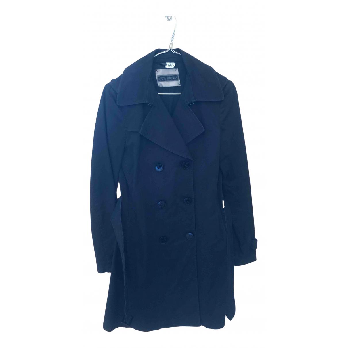 Liu.jo N Black Cotton jacket for Women 42 FR