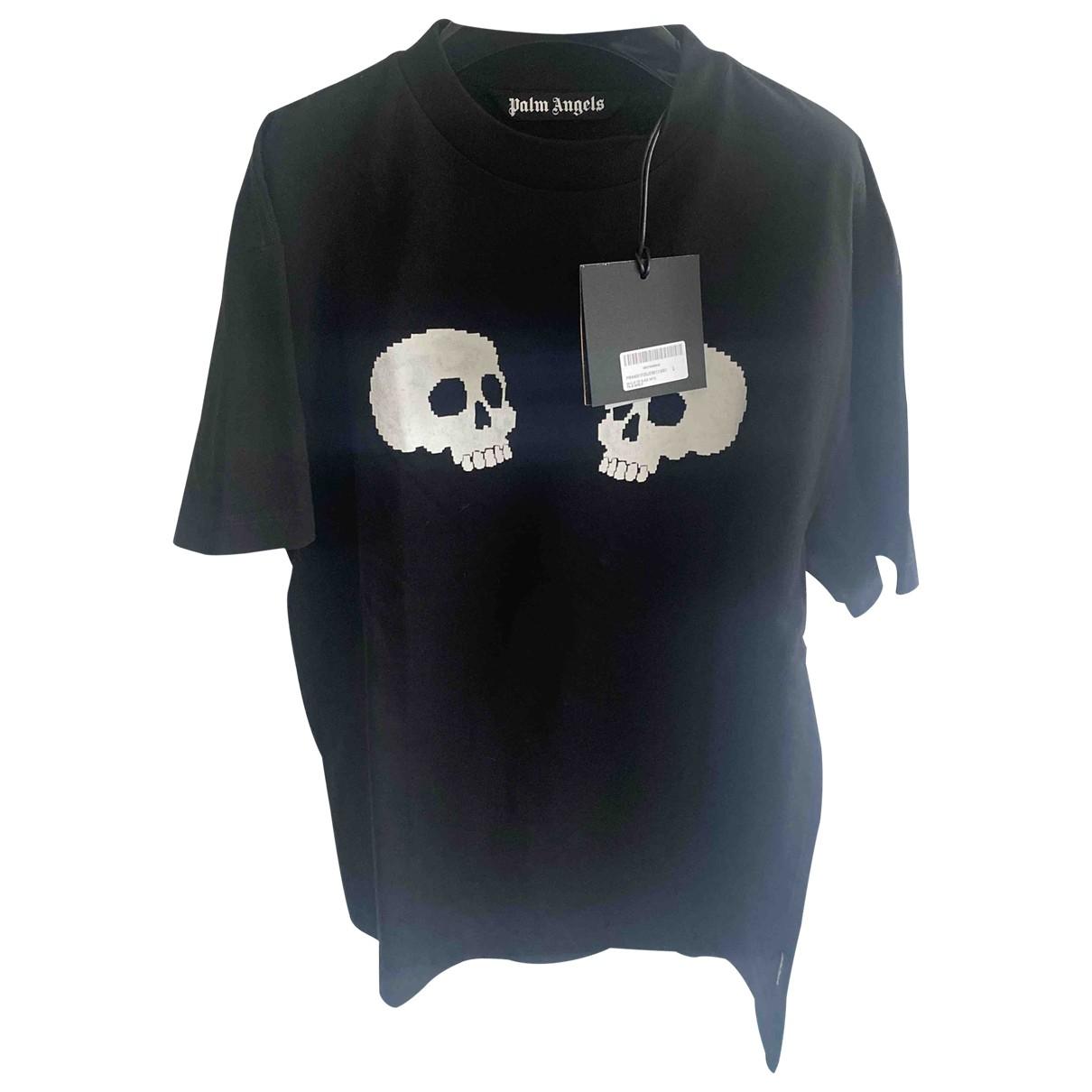 Palm Angels \N T-Shirts in  Schwarz Baumwolle