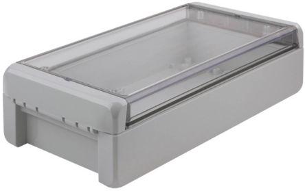 Bopla Bocube, Light Grey Polycarbonate Enclosure, IP66, IP68, Flanged, 231 x 125 x 60mm