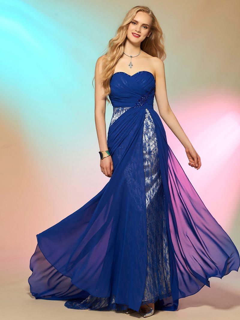 Ericdress Sexy Sweetheart Lace Chiffon Prom Dress