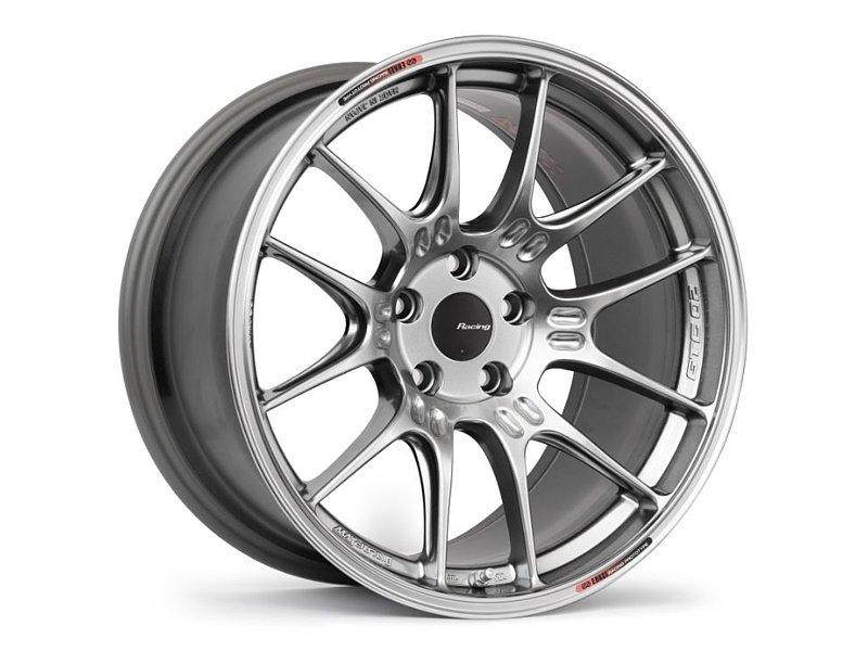 Enkei GTC02 Wheel 18x9.5 5x114.3 15mm Silver