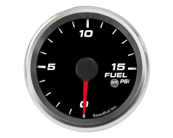 SpeedHut GR258-FUEL-03 Fuel Pressure Gauge 0-15psi with Warning