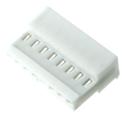 TE Connectivity 8-Way IDC Connector Socket for Cable Mount, 1-Row (10)