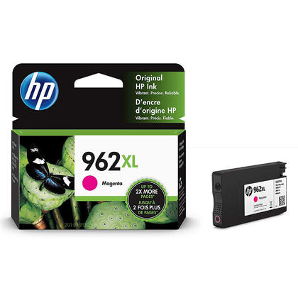 HP 962XL 3JA01AN Original Magenta Ink Cartridge High Yield