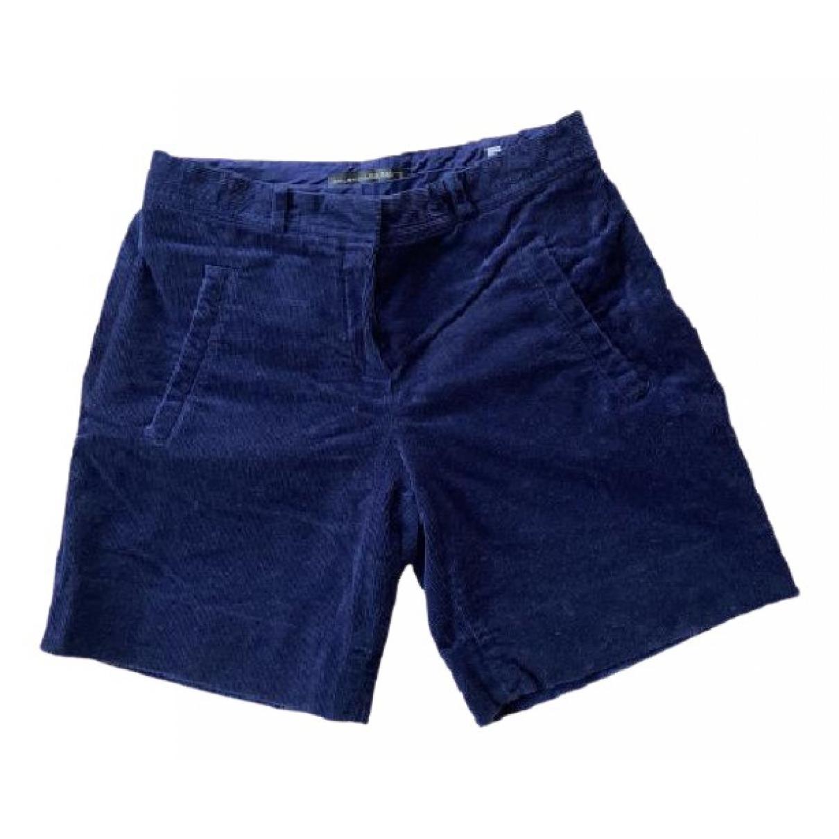 Balenciaga \N Shorts in  Blau Baumwolle