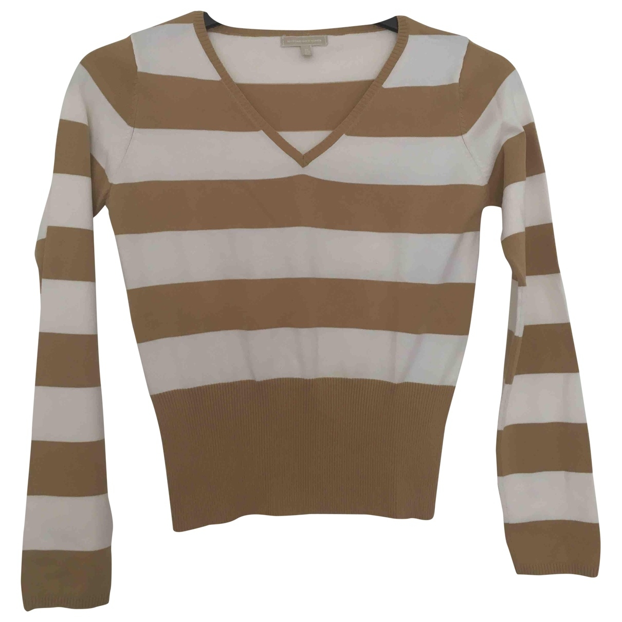 Massimo Dutti \N Beige Cotton Knitwear for Women M International
