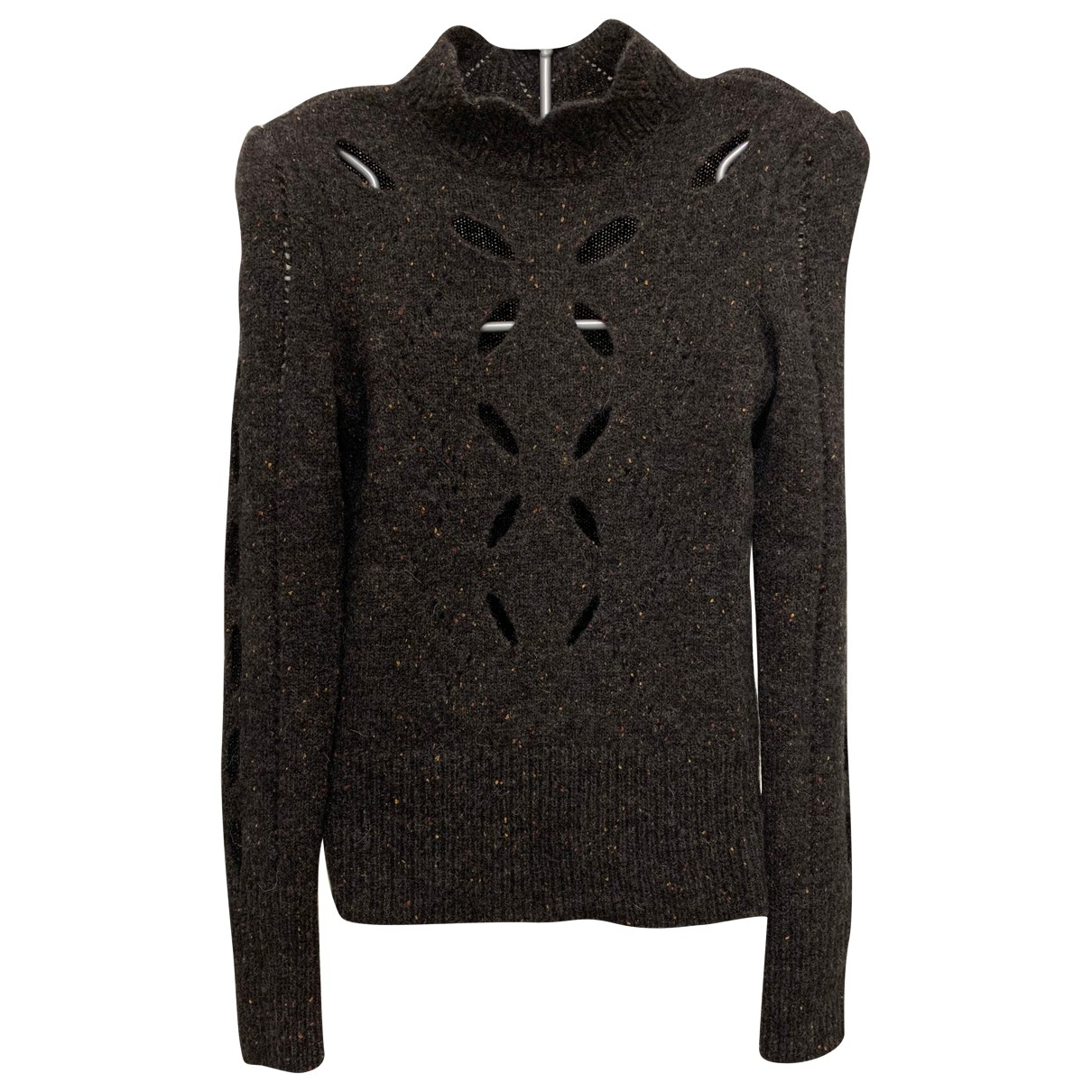 Isabel Marant \N Pullover in  Anthrazit Wolle