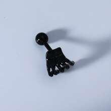1pc Guys Hand Design Stud Earring