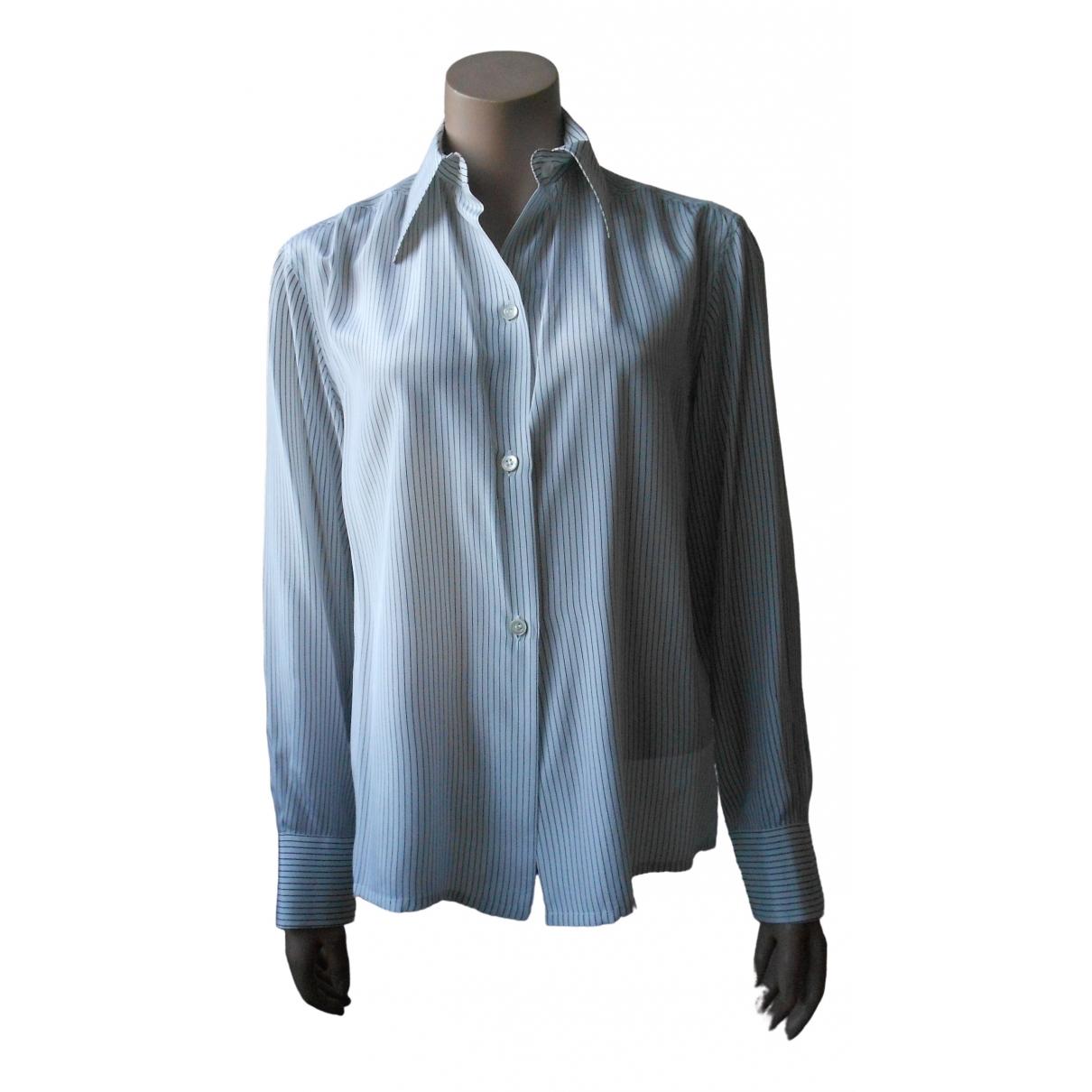 Dior - Top   pour femme en soie - blanc