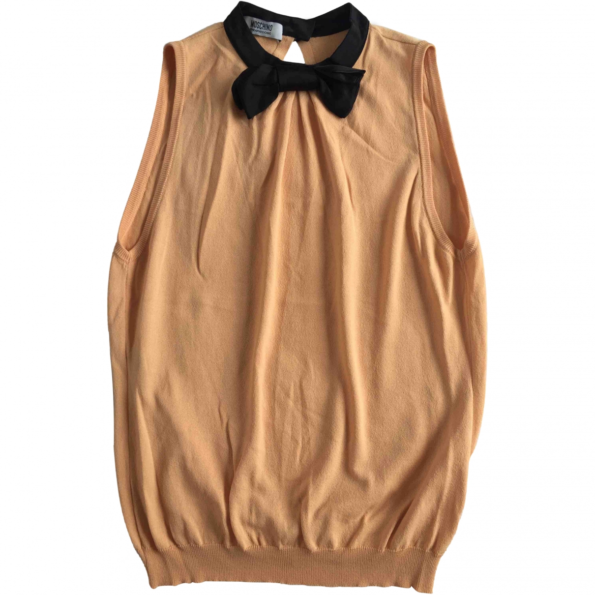 Moschino Cheap And Chic \N Top in  Orange Polyester