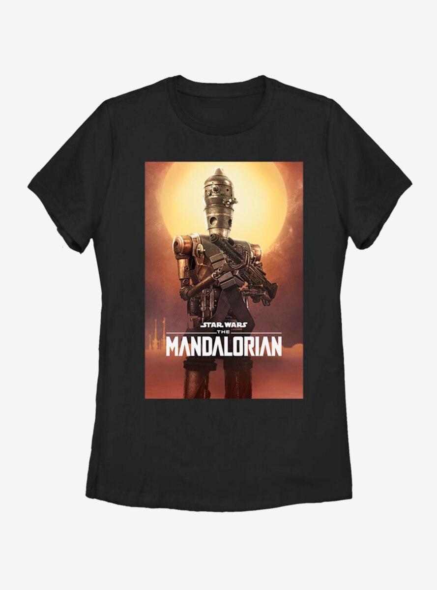 Star Wars The Mandalorian IG-11 Poster Womens T-Shirt
