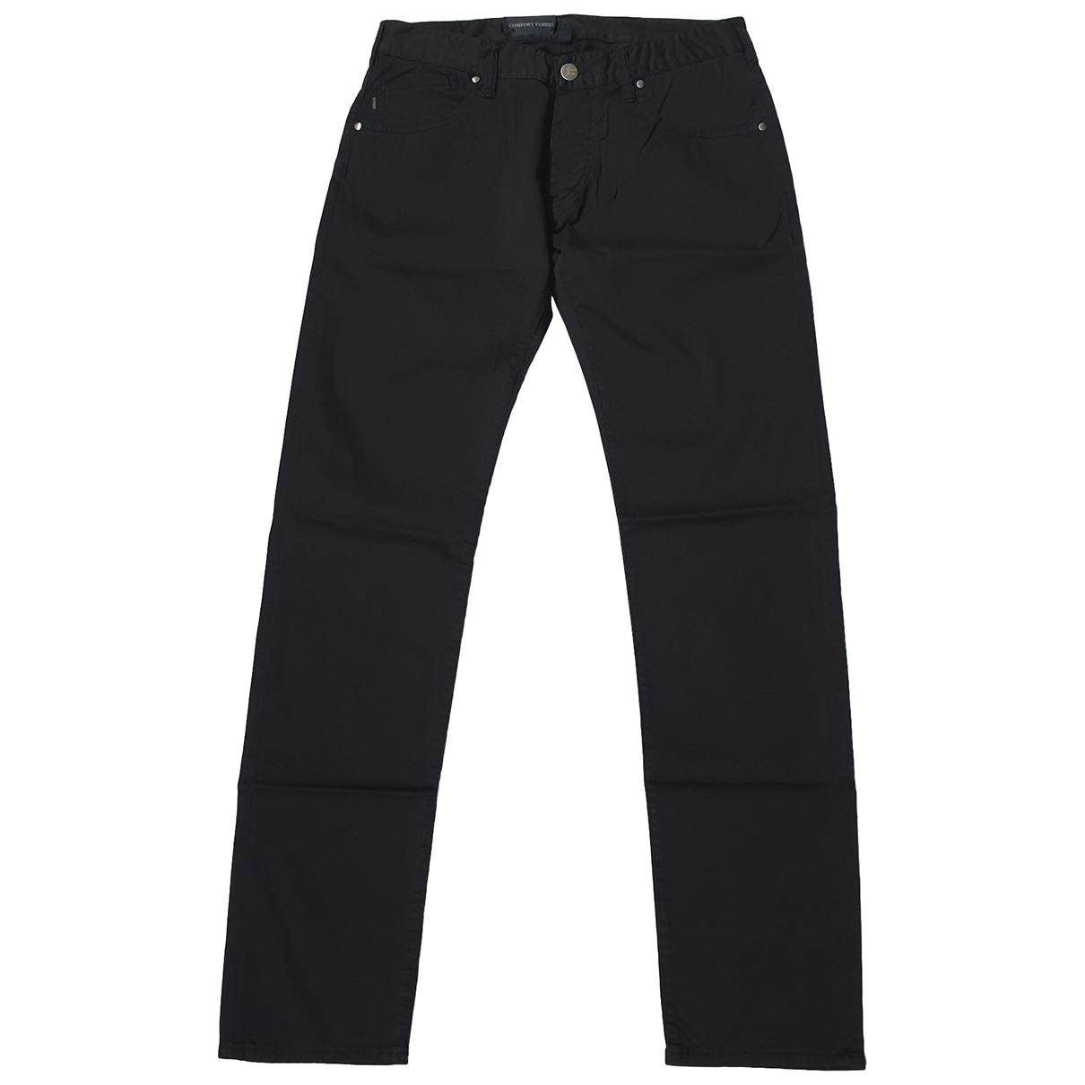 Armani Jeans \N Black Cotton Jeans for Men 32 US