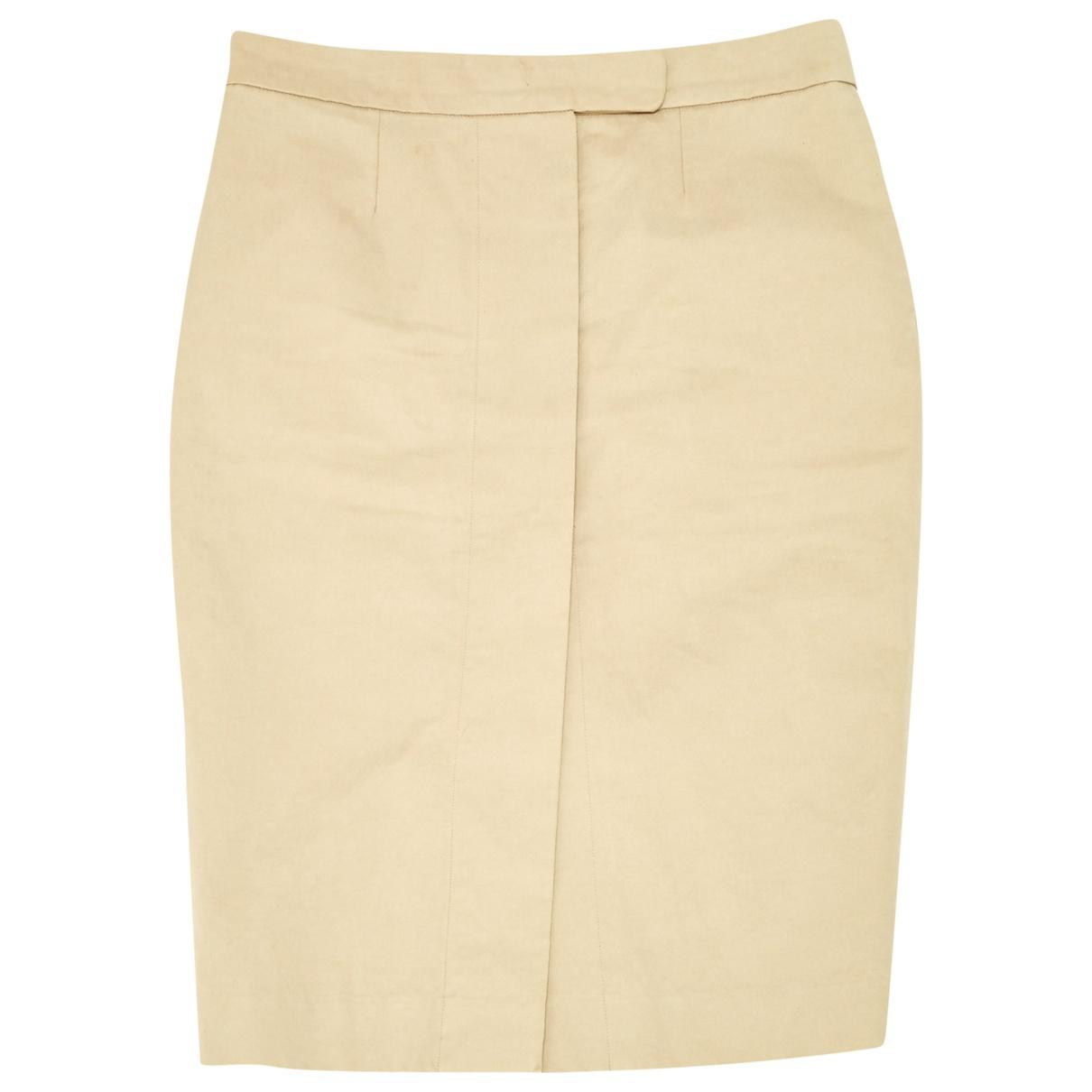 La Prestic Ouiston - Jupe   pour femme en coton - beige