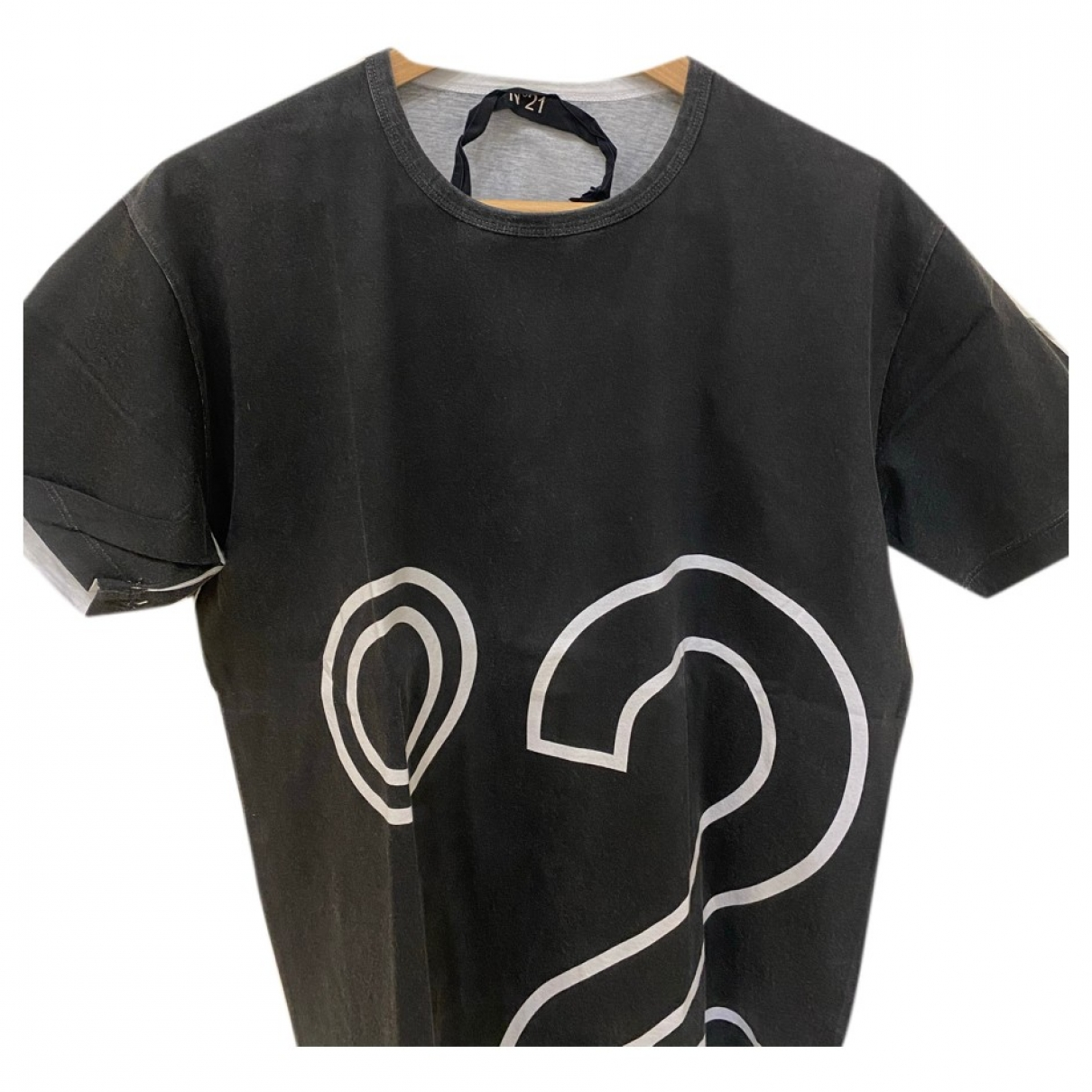 N°21 \N T-Shirts in  Schwarz Baumwolle