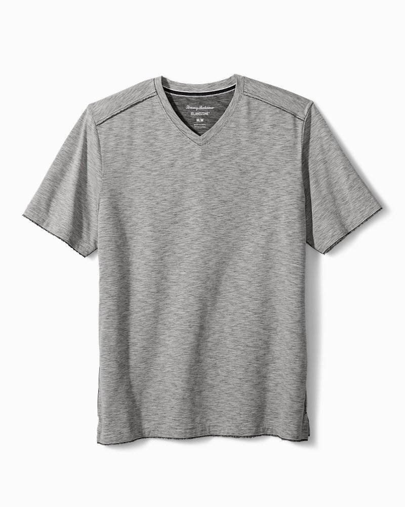Big & Tall Fray Day Harbor IslandZone® V-Neck T-Shirt
