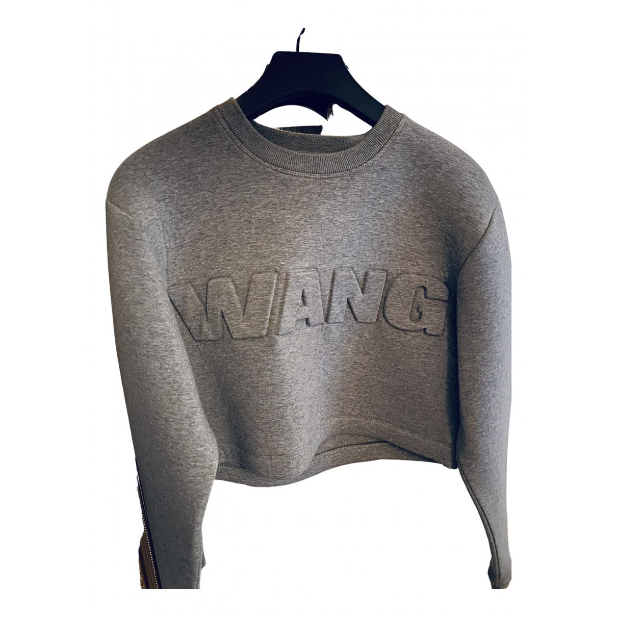Alexander Wang Pour H&m - Pull   pour femme en coton - gris