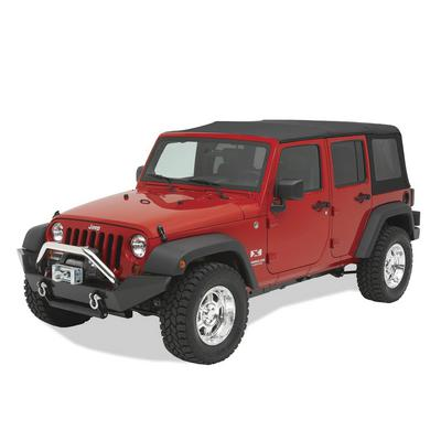 Bestop HighRock 4x4 Front Winch Bumper (Black) - 44910-01