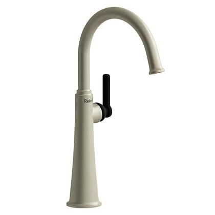 Momenti MMRDL01JBNBK Single Hole Lavatory Faucet with J Lever Handle 1.5 GPM  in Brushed