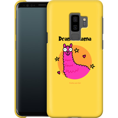 Samsung Galaxy S9 Plus Smartphone Huelle - Drama Lama von Flossy and Jim