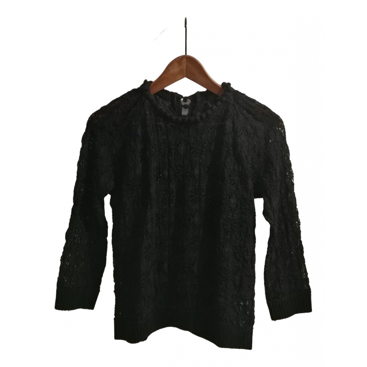 Isabel Marant \N Black Cotton  top for Women 36 FR