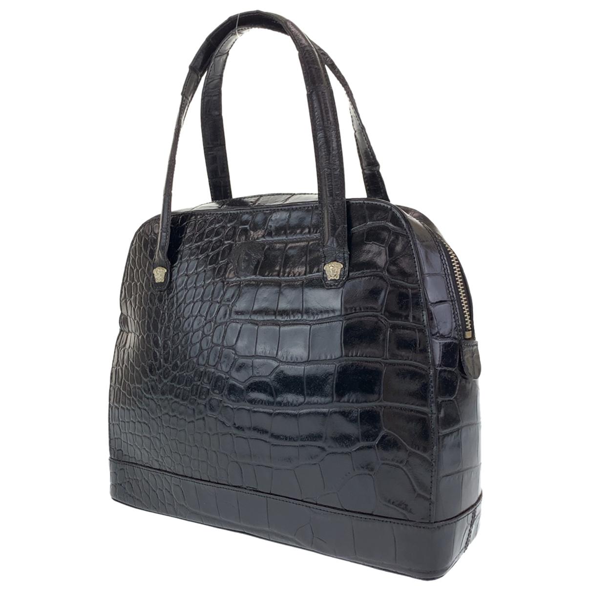 Bolso de Cuero Gianni Versace