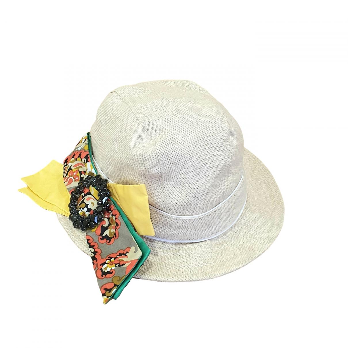Sombrero de Lino Dolce & Gabbana