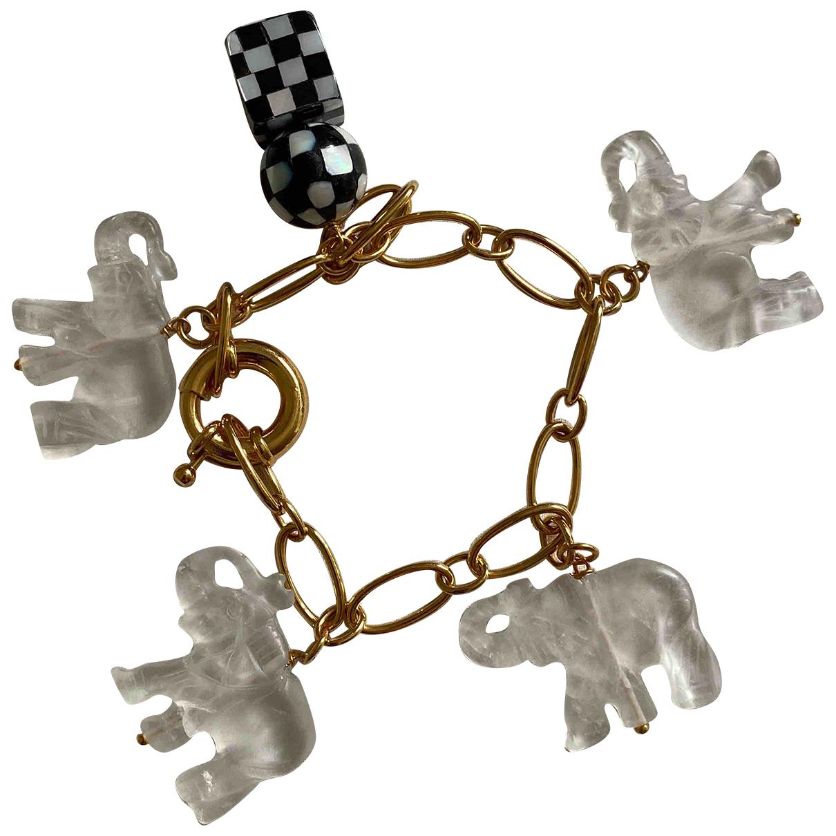 Timeless Pearly - Bracelet   pour femme en or jaune - dore