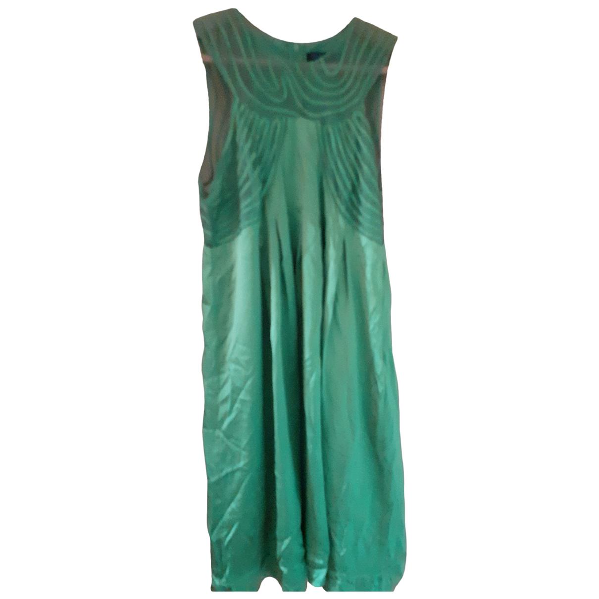 Ted Baker - Robe   pour femme en soie - vert