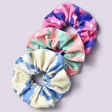 3pcs Tie Dye Scrunchie