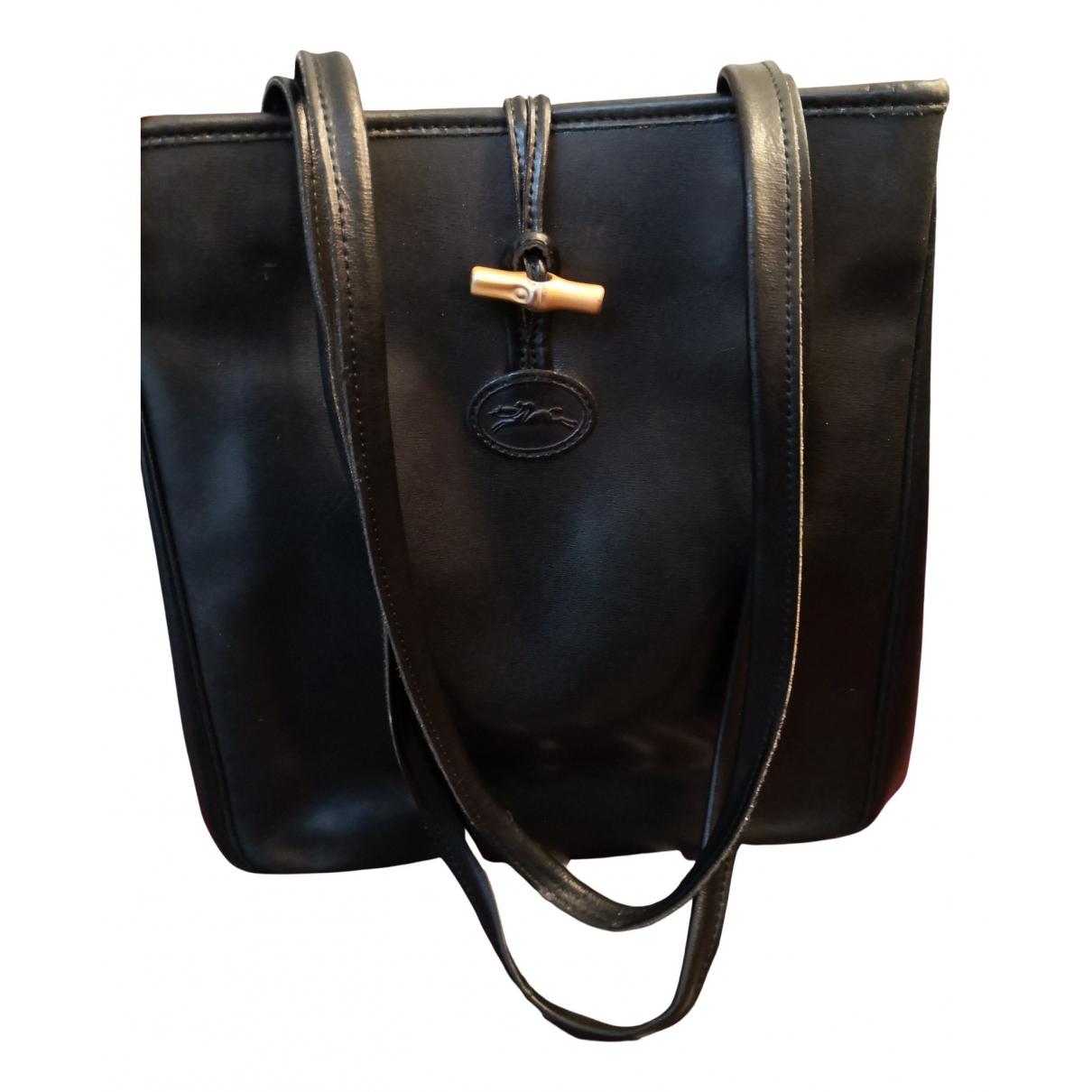 Bolso  Roseau de Cuero Longchamp