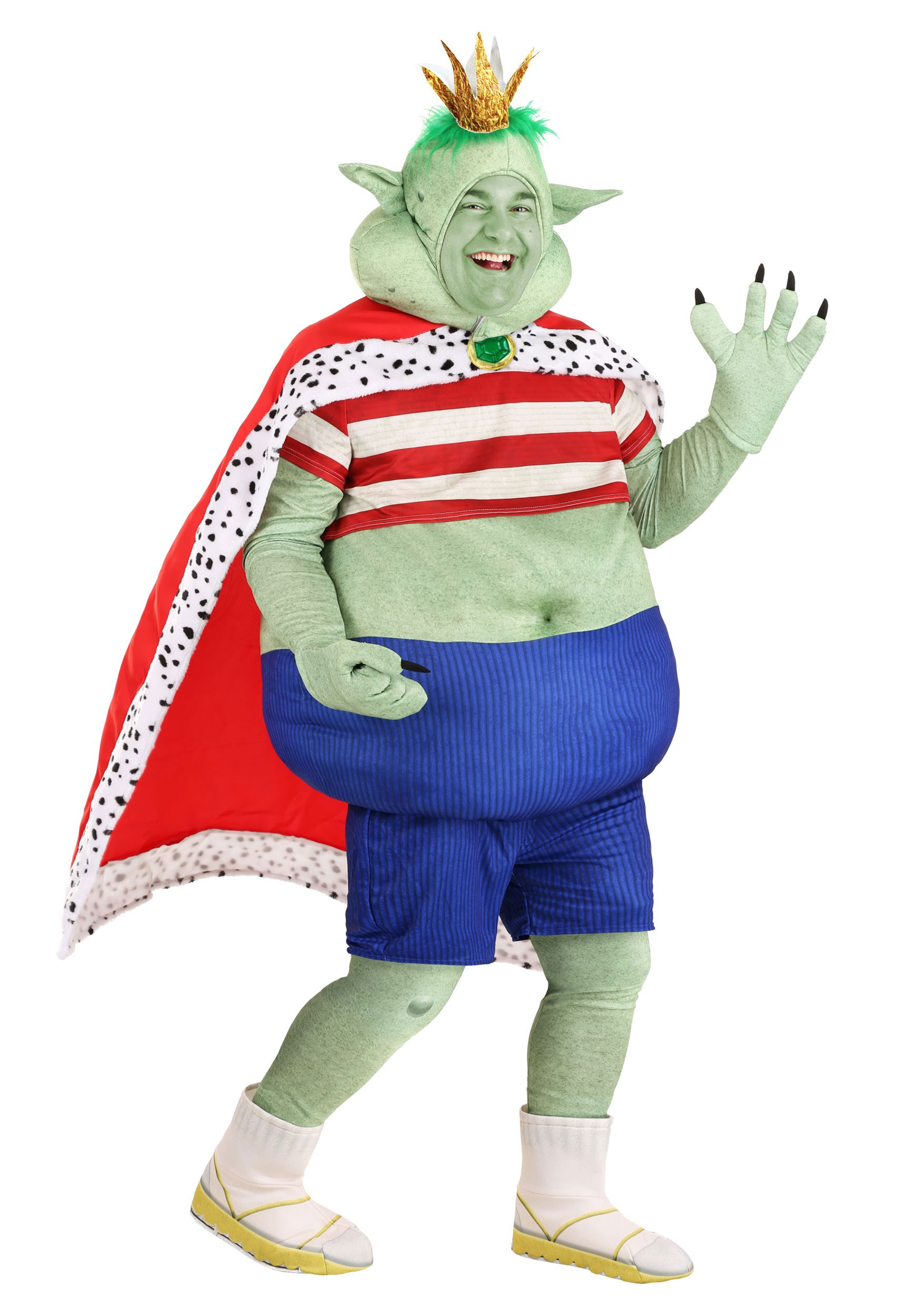 Adult Plus Size Prince Gristle Trolls Costume