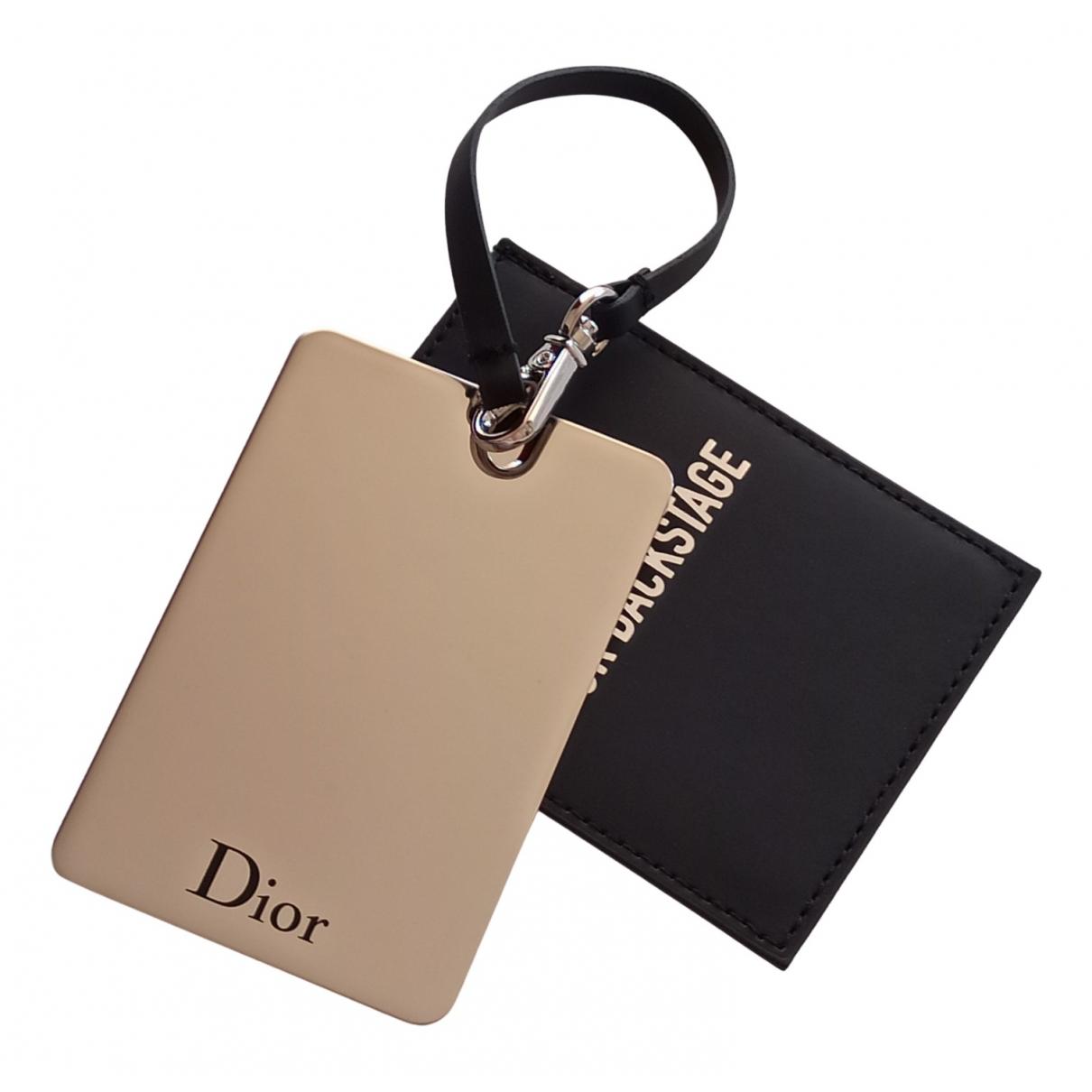 Dior - Bijoux de sac   pour femme en metal - noir
