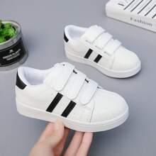 Toddler Girls Velcro Strap Skate Shoes