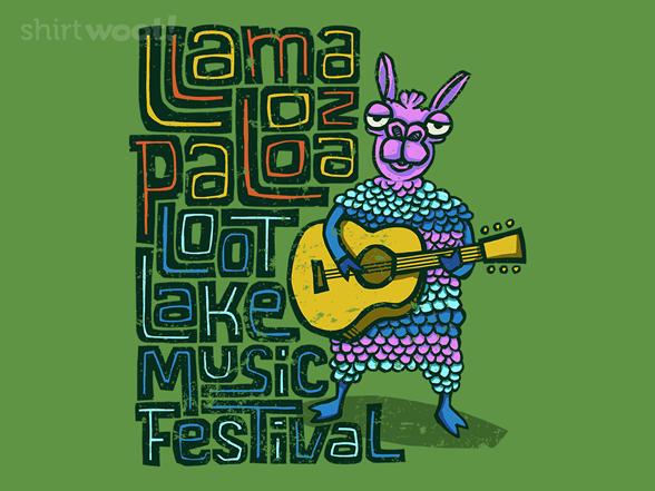 Loot Lake Llama T Shirt