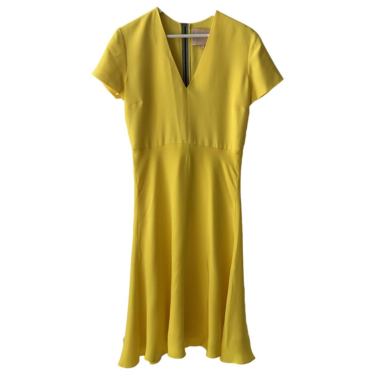 Roksanda \N Kleid in  Gelb Seide